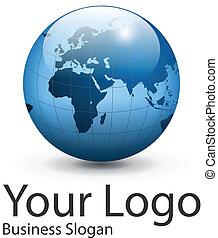 logotipo, globo