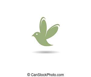 logotipo, hummingbird, modelo