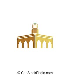 logotipo, mesquita
