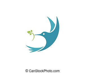 logotipo, modelo, hummingbird
