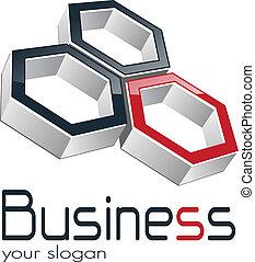 logotipo, negócio