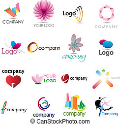 logotipo, ricos, cobrança