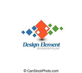 logotipo, vetorial, abstratos