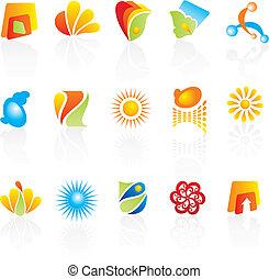 logotipos, companhia, desenho