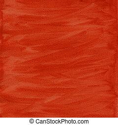 lona, abstratos, textura, aquarela, laranja, vermelho