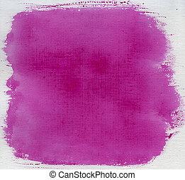 lona, rosa, abstratos, textura, aquarela, vermelho