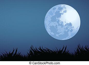 lua cheia, noturna