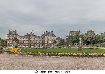 luxemburgo, paris, palase, frança