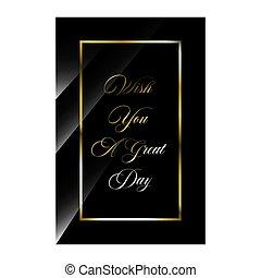 luxo, day., desejo, estilos, citação, inspirar, elegante, vetorial, motivational, positivo, quotes., tu, ilustração, estoque, tipografia, grande, beleza