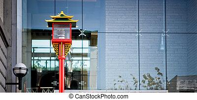 luz, rua, chinês