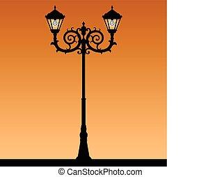 luz, rua