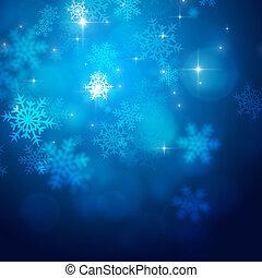 luzes, xmas, neve