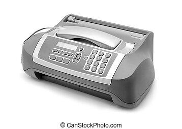 máquina, fax