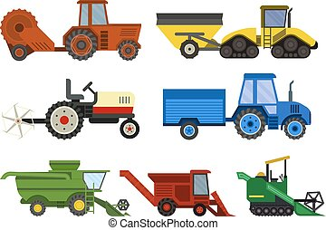 máquina, harvester