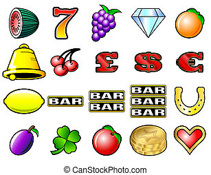 máquina slot, símbolos