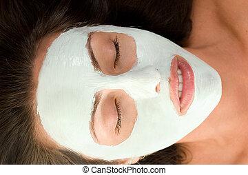 máscara, beleza