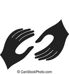 mãos ajuda