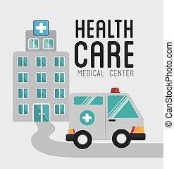 médico, vetorial, desenho, illustration.