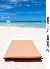 méxico, mujeres, tropicais, sunbed, isla, praia