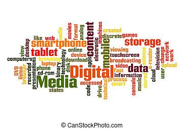 mídia, digital