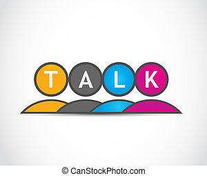 mídia, grupo, conversa, social