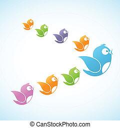 mídia, seguidores, social