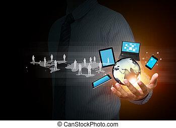 mídia, tecnologia, social