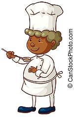 macho, cozinheiro