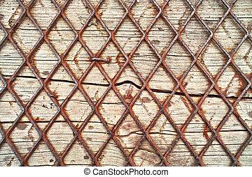 madeira, fio, fundo