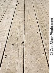 madeira, grunge, pregos, antigas, chão