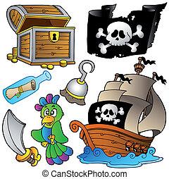 madeira, navio, pirata, cobrança