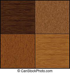 madeira, vetorial, jogo, seamless, backgrounds.
