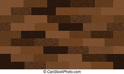 madeira, vetorial, seamless, texture.