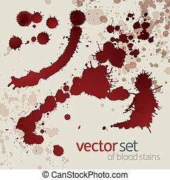 manchas, jogo, splattered, sangue, 4