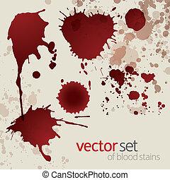 manchas, jogo, splattered, sangue, 5