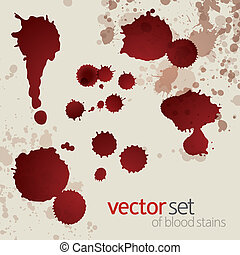 manchas, jogo, splattered, sangue, 6