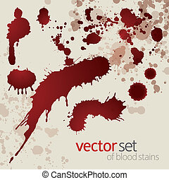 manchas, jogo, splattered, sangue, 8