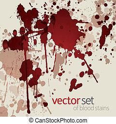 manchas, sangue