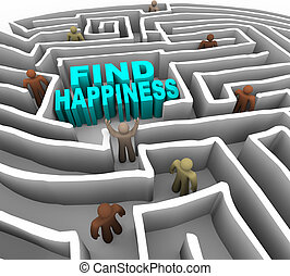 maneira, achar, felicidade, seu