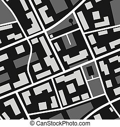 mapa, seamless, padrão