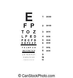 mapa, vetorial, doutor olho