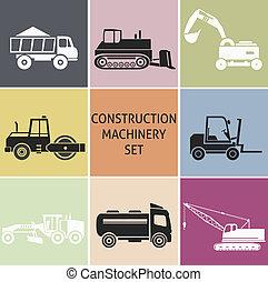 maquinaria construção