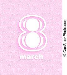 março, 8