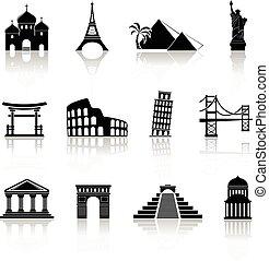 marcos, ícones