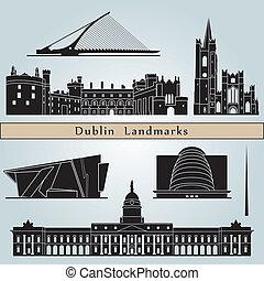 marcos, dublin, monumentos