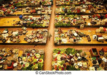 market., vegetal