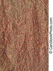 marrom, áspero, pedra, fundo