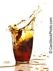 marrom, bebida