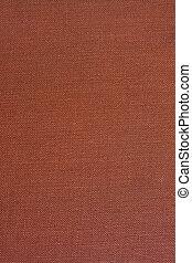 marrom, grosseiro, fundo, têxtil
