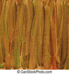 marrom, lona, abstratos, textura, aquarela, verde vermelho